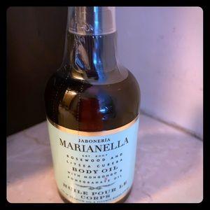 Jaboniera Marianella body oil